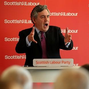 Former Prime Minister Gordon Brown has called for constitutional reforms to create a
