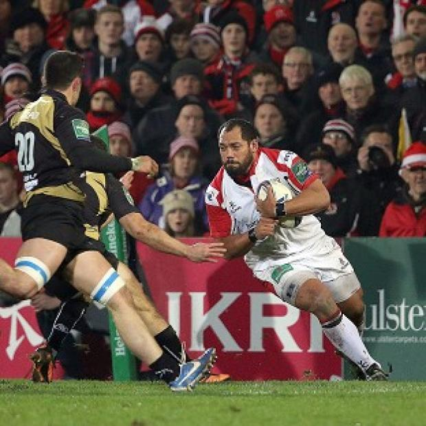 Andover Advertiser: John Afoa scored a try for Ulster
