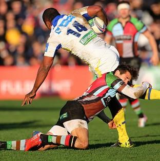 Sitiveni Sivivatu, number 14, scored a late try as Clermont secured a
