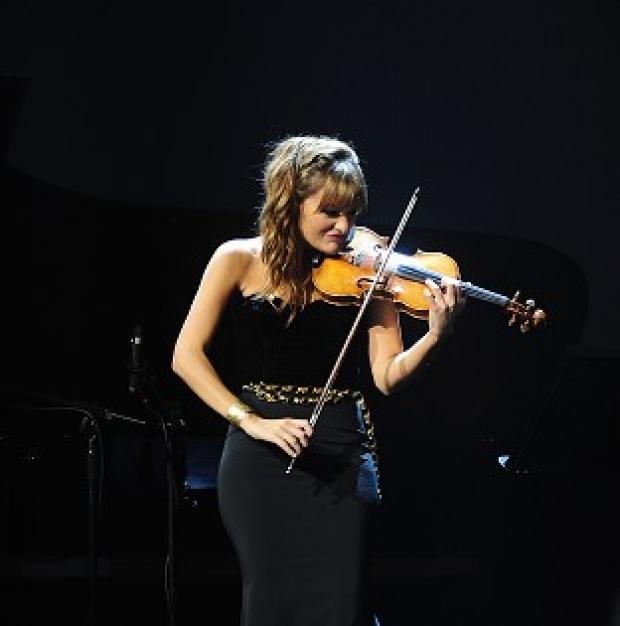 Andover Advertiser: Nicola Benedetti performs at the Classic Brit Awards 2013.