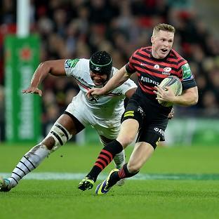 Chris Ashton went over for the only try of the game
