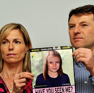 Madeleine McCann's parents Gerry and Kate have welcomed news that UK prosecutors have written to the Portuguese authorities seeking help with the inquiry into the disappearance of their daughter
