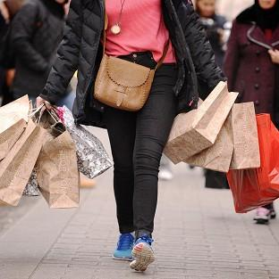 Andover Advertiser: The Christmas high street shopping rush thinned out again in 2013 after December footfall fell 3.7% compared with 2012 as shoppers increasingly turned to the web