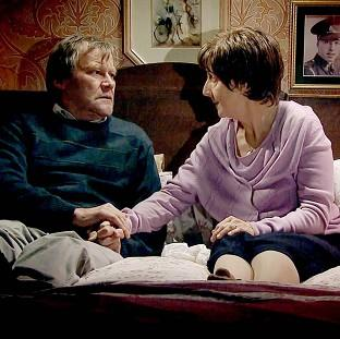 Andover Advertiser: Hayley and Roy Cropper, played by Julie Hesmondhalgh and David Neilson