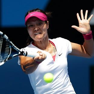 Li Na is through to the next round in Melbourne (AP)