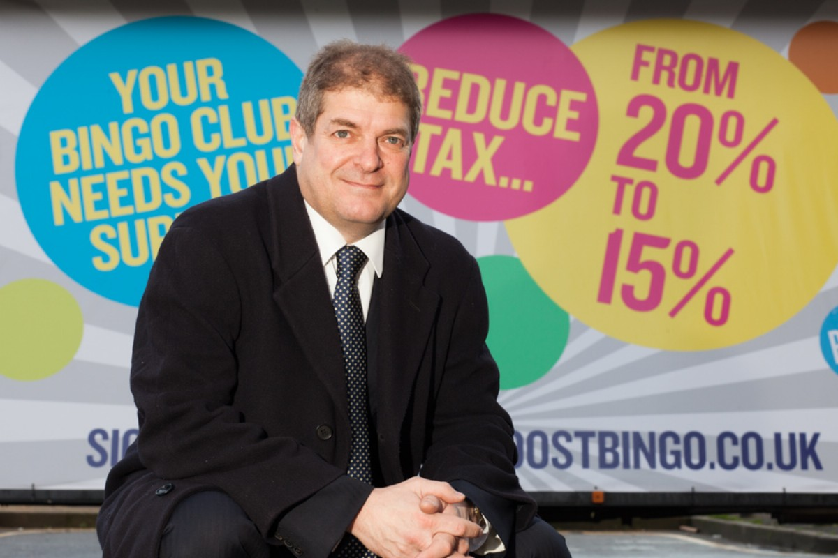 Miles Baron, chief executive of The Bingo Association