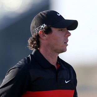 Rory McIlroy has had a slow start in Abu Dhabi