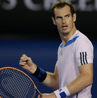 Andy Murray, pictured, overcame Vincent Millot 6-2 6-2 7-5 (AP)