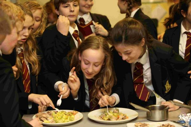 Andover Advertiser: The Create and Cook Competition has returned for another year, and pupils joined in a workshop with previous finalist Callum Mousley