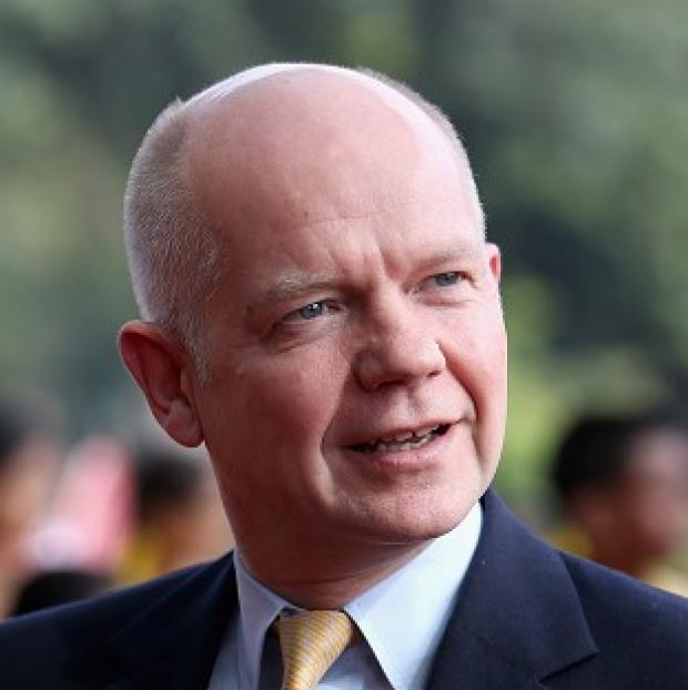Andover Advertiser: Foreign Secretary William Hague