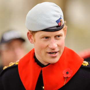 Army desk job for Prince Harry