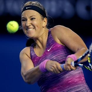 Victoria Azarenka, pictured, made light work of Yvonne Meusburger (AP)