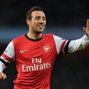 Andover Advertiser: Santi Cazorla scored twice for Arsenal
