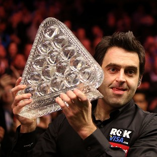 Ronnie O'Sullivan was imperious on his way to lifting the Masters trophy