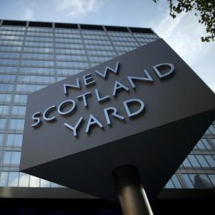 Scotland Yard says a 21-year-old man has been arrested on suspicion of being involved in the commission, preparation and instigation of terrorism offences