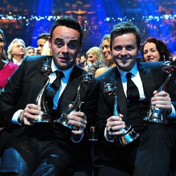 Andover Advertiser: Ant and Dec celebrate with their National Television Awards