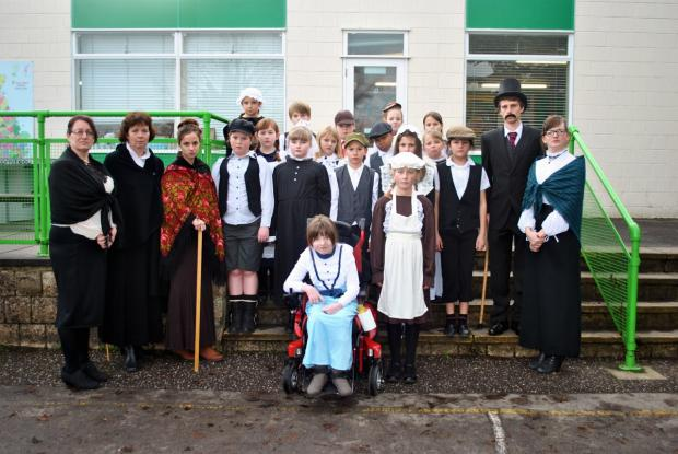 Andover Advertiser: School travels back in time...