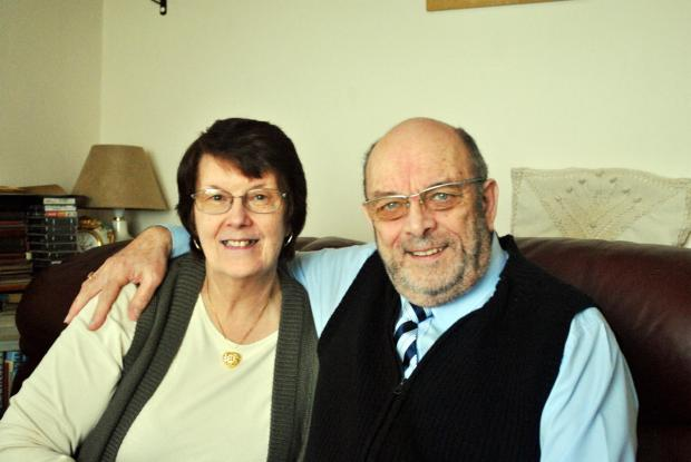 Couple return to reception venue 50 years on