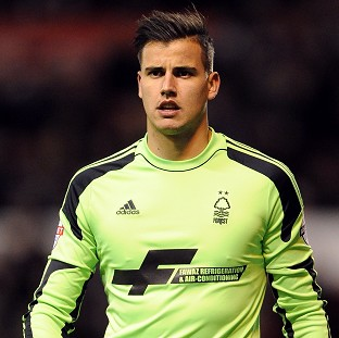 Karl Darlow was the busier of the two goalkeepers at the City Ground