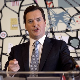 Osborne hails growth figures