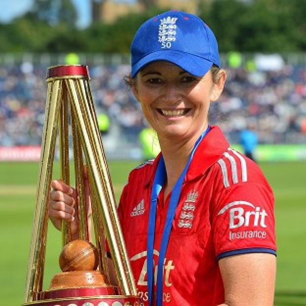 Andover Advertiser: Charlotte Edwards has led England to double Ashes success this year