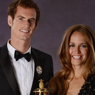 Andover Advertiser: Andy Murray and his girlfriend Kim Sears