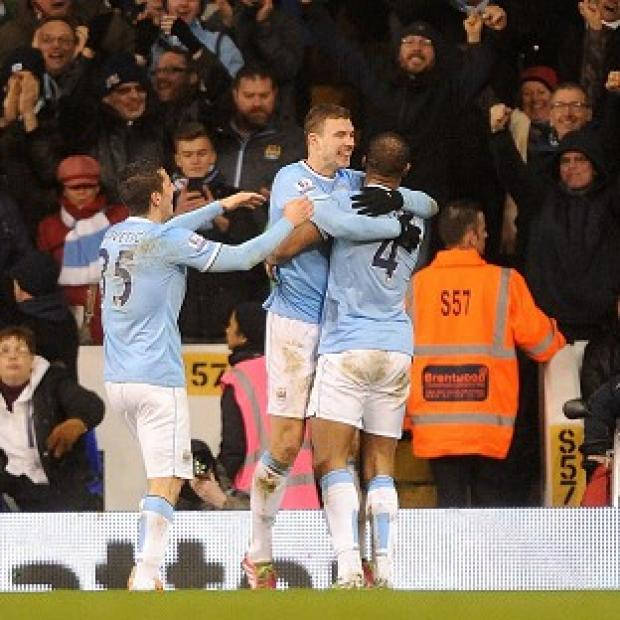 Andover Advertiser: Manchester City scored five in their victory over Tottenham at White Hart Lane