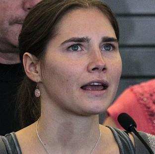 Amanda Knox has always protested her innocence (AP)