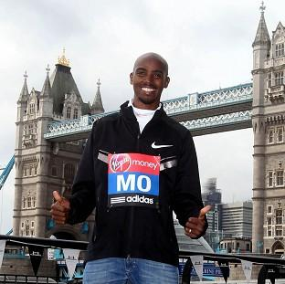 Andover Advertiser: Mo Farah is readying himself for April's London Marathon