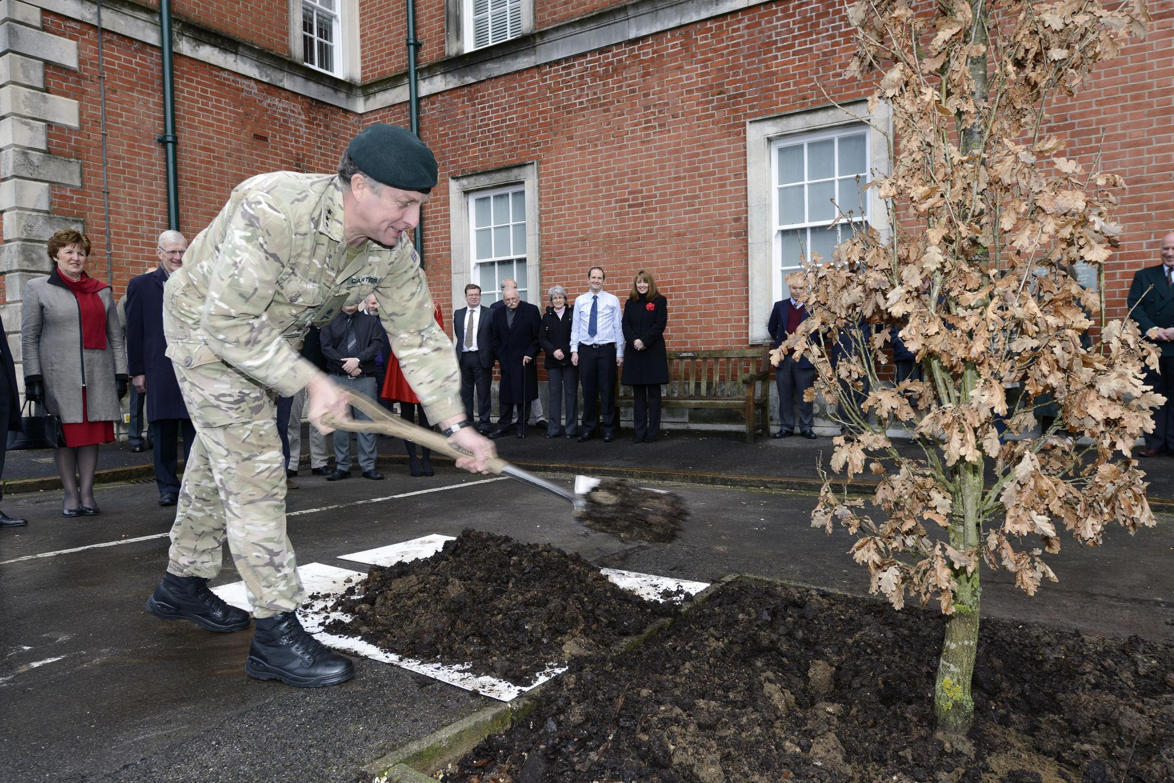 Lieutenant General Sir Nick Carter said the regiment's sacrifice has been huge.