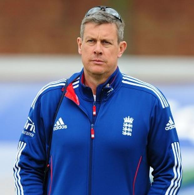 Andover Advertiser: Ashley Giles, pictured, wants to be Andy Flower's successor