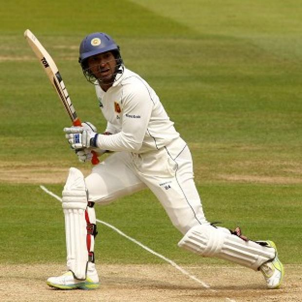 Andover Advertiser: Kumar Sangakkara hit 19 fours and three sixes in his unbeaten knock of 160