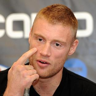 Andrew Flintoff, pictured, believes Kevin Pietersen is being made a scapegoat