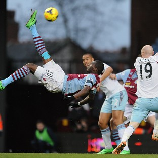Aston Villa struggled to create in their match against West Ham