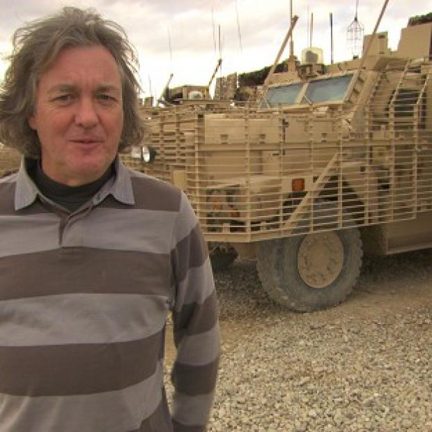 Andover Advertiser: Top Gear host James May hopes to convince BBC bosses to make a programme about First World War poets