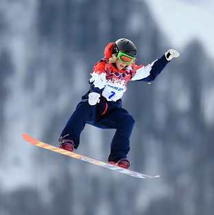 Jenny Jones could win Team GB's first medal