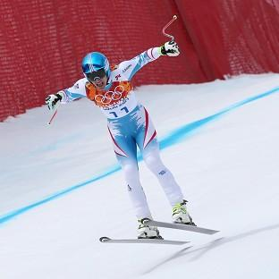 Matthias Mayer claimed gold in the men's downhill in Sochi (AP)