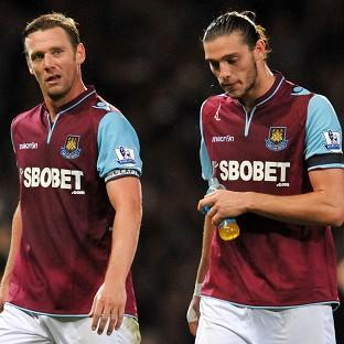 Kevin Nolan, left, believes Andy Carr