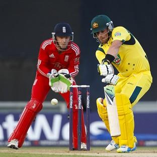 Aaron Finch, right, will play for Yorkshire in the upcoming season
