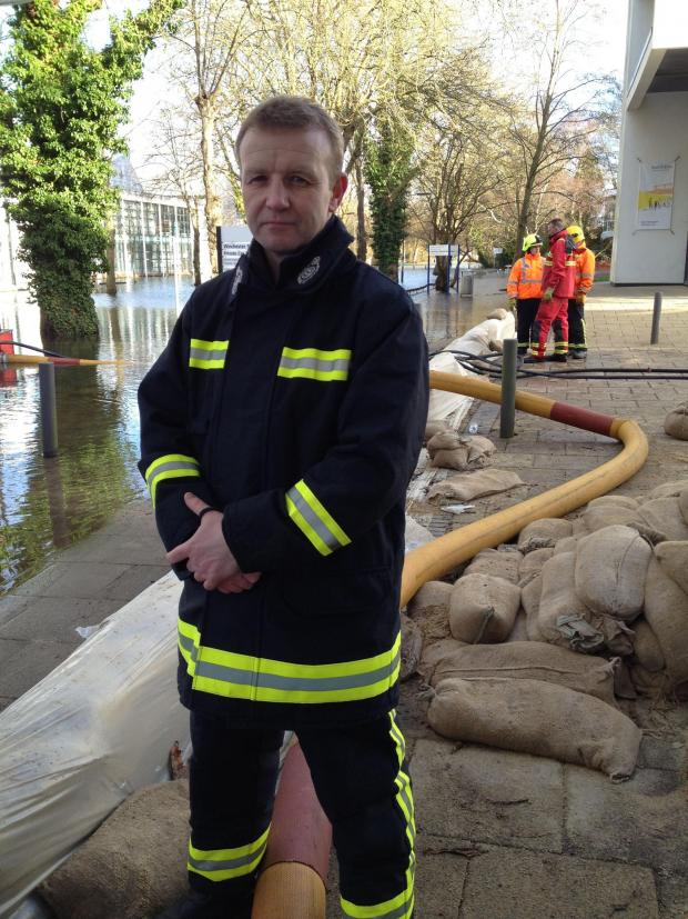 Andover Advertiser: Eastleigh fire and rescue assistant chief Neil Odin said they have used high volume pumps to take water away from the submerged Park Avenue