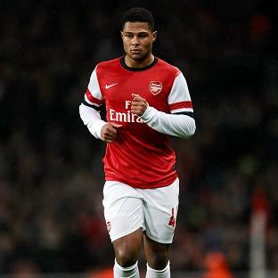 Serge Gnabry could feature for Arsenal against Liverpool