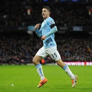 Stevan Jovetic netted the opener for City