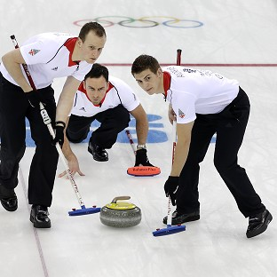 Great Britain's men's curlers were beaten by Norway (AP)