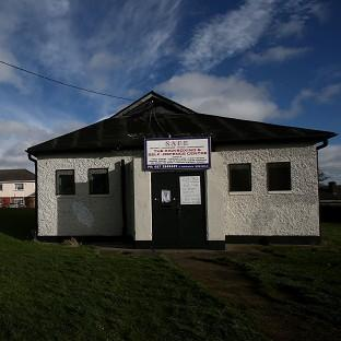 The British Legion hall in Killester, Dublin, which is on sale for 50,000 euro (�41,000)