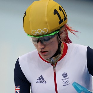 Elise Christie has received threatening comments on social media