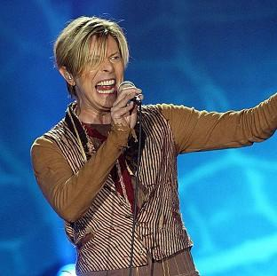 Andover Advertiser: File photo dated 17/11/03 of Singer David Bowie who is tipped for his first prize at the BRIT Awards for almost two decades, with Arctic Monkeys and Ellie Goulding also among favourites for the big event tomorrow.