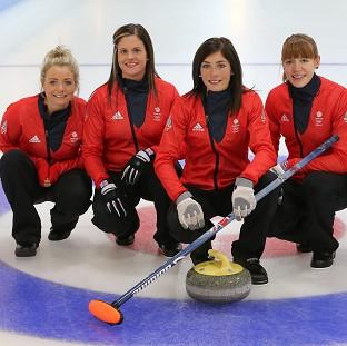 Great Britain's women's curling team face Switzerland on Thursday
