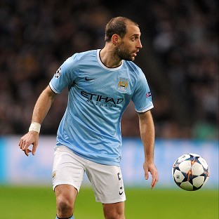 Pablo Zabaleta has not given up hope of advancing in the Champions League