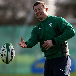 Brian O'Driscoll has recovered from illness to face England