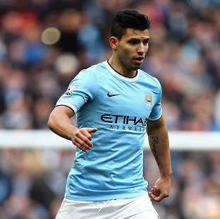 Sergio Aguero is close to a return to a